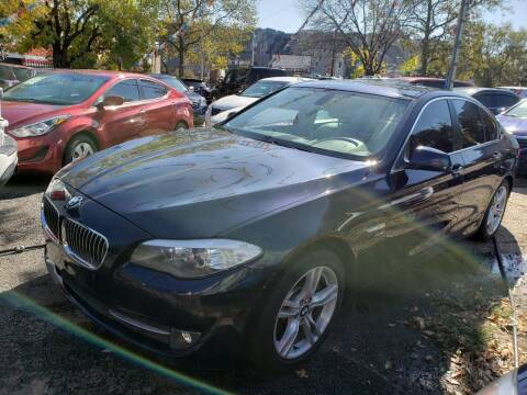 2012 BMW 5 Series for sale at JOANKA AUTO SALES in Newark NJ
