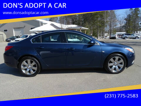 2011 Buick Regal for sale at DON'S ADOPT A CAR in Cadillac MI