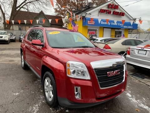 2015 GMC Terrain for sale at C & M Auto Sales in Detroit MI