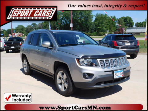 2017 Jeep Compass for sale at SPORT CARS in Norwood MN