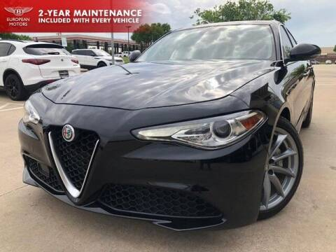 2019 Alfa Romeo Giulia for sale at European Motors Inc in Plano TX
