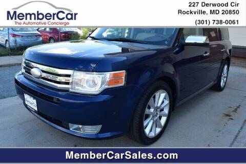 2012 Ford Flex for sale at MemberCar in Rockville MD