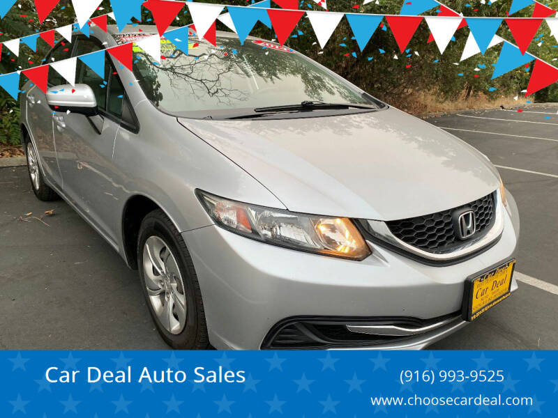 2014 Honda Civic for sale at Car Deal Auto Sales in Sacramento CA