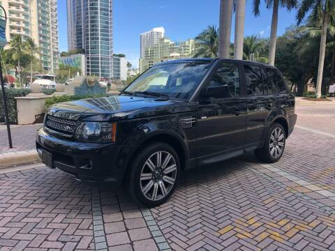 2012 Land Rover Range Rover Sport for sale at Florida Cool Cars in Fort Lauderdale FL