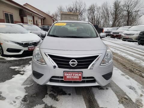 2016 Nissan Versa for sale at Shattuck Motors in Newport VT