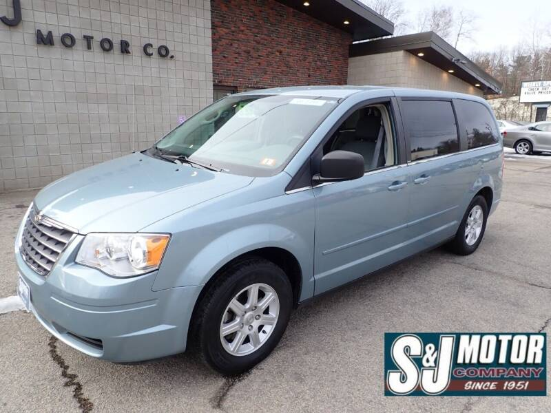2010 Chrysler Town and Country for sale at S & J Motor Co Inc. in Merrimack NH