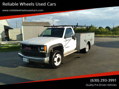2002 GMC Sierra 3500 for sale at Reliable Wheels Used Cars in West Chicago IL