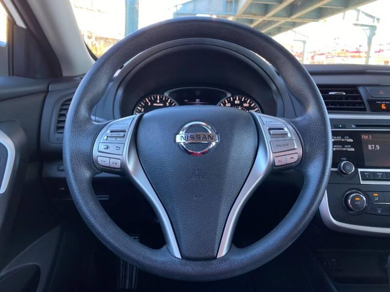 2016 Nissan Altima 2.5 S 4dr Sedan - Philladelphia PA