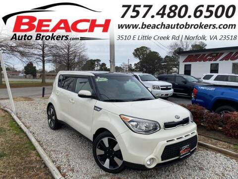 2015 Kia Soul for sale at Beach Auto Brokers in Norfolk VA