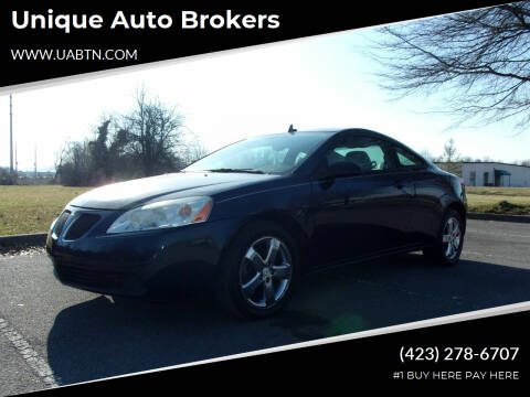 2008 Pontiac G6 for sale at Unique Auto Brokers in Kingsport TN