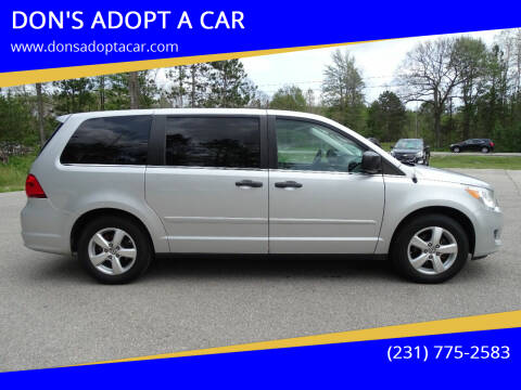 2011 Volkswagen Routan for sale at DON'S ADOPT A CAR in Cadillac MI