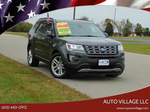 2016 Ford Explorer for sale at AUTO VILLAGE LLC in Lebanon TN