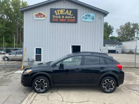 2013 Subaru XV Crosstrek for sale at IDEAL TRUCK & AUTO LLC in Coopersville MI