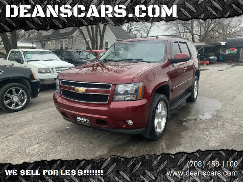 2008 Chevrolet Tahoe for sale at DEANSCARS.COM in Bridgeview IL