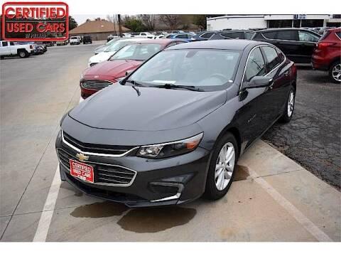 2016 Chevrolet Malibu for sale at South Plains Autoplex by RANDY BUCHANAN in Lubbock TX