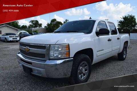 2013 Chevrolet Silverado 1500 for sale at American Auto Center in Austin TX