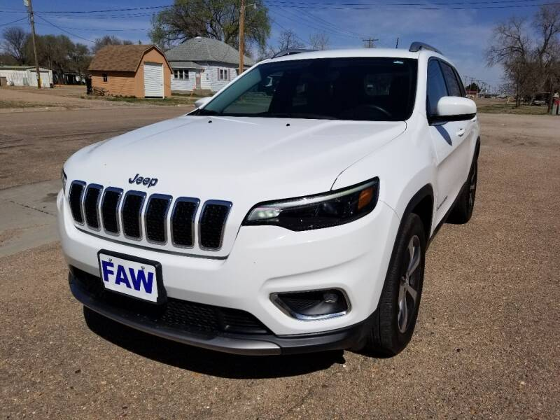 2019 Jeep Cherokee for sale at Faw Motor Co in Cambridge NE