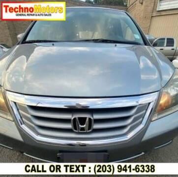 2008 Honda Odyssey for sale at Techno Motors in Danbury CT