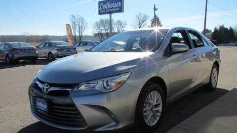2016 Toyota Camry for sale at Leitheiser Car Company in West Bend WI