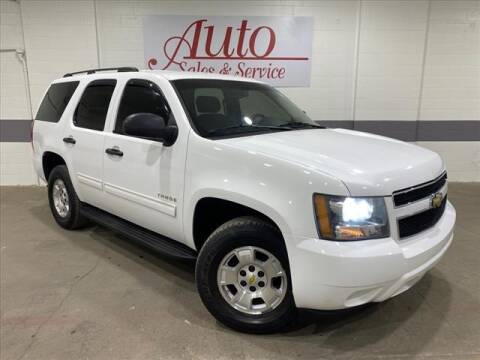 2010 Chevrolet Tahoe for sale at Auto Sales & Service Wholesale in Indianapolis IN