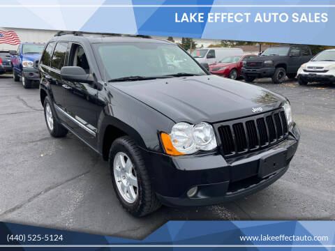 2010 Jeep Grand Cherokee for sale at Lake Effect Auto Sales in Chardon OH