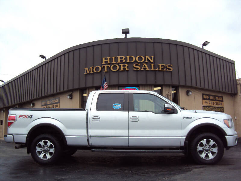 2013 Ford F-150 for sale at Hibdon Motor Sales in Clinton Township MI