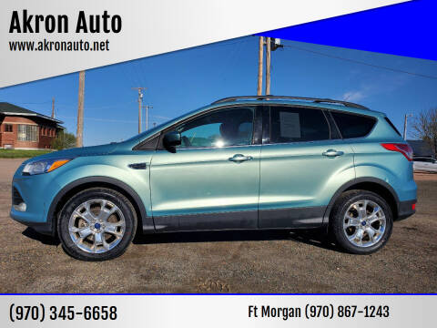 2013 Ford Escape for sale at Akron Auto in Akron CO
