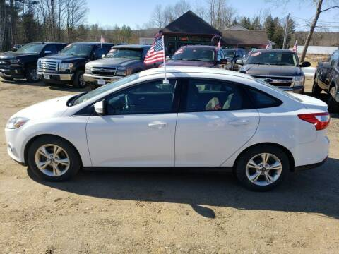 2013 Ford Focus for sale at Winner's Circle Auto Sales in Tilton NH