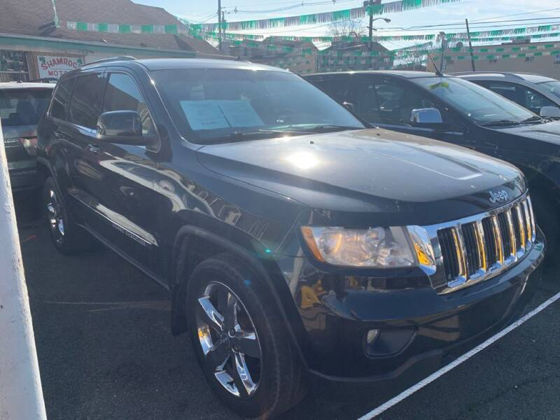 2012 Jeep Grand Cherokee for sale at Park Avenue Auto Lot Inc in Linden NJ
