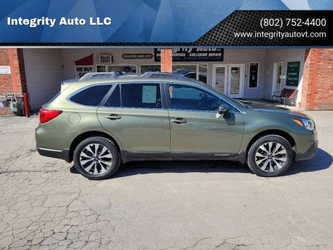 2016 Subaru Outback for sale at Integrity Auto LLC - Integrity Auto 2.0 in St. Albans VT