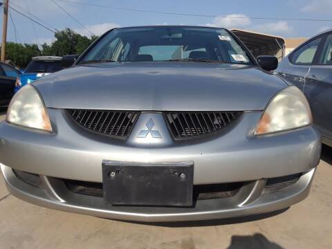 2005 Mitsubishi Lancer for sale at Auto Haus Imports in Grand Prairie TX