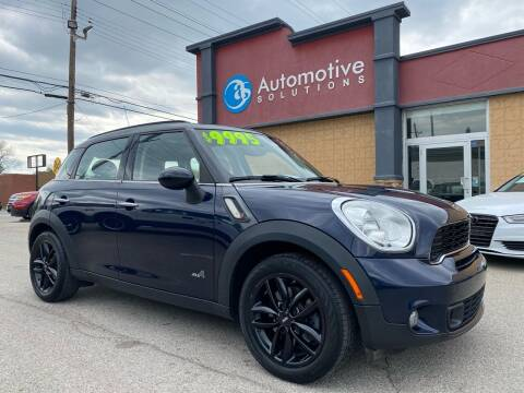 2011 MINI Cooper Countryman for sale at Automotive Solutions in Louisville KY
