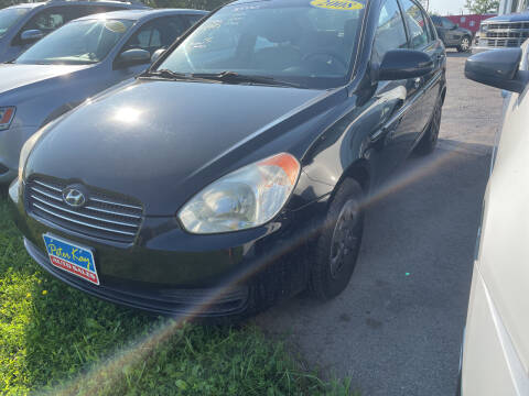 2008 Hyundai Accent for sale at Peter Kay Auto Sales in Alden NY