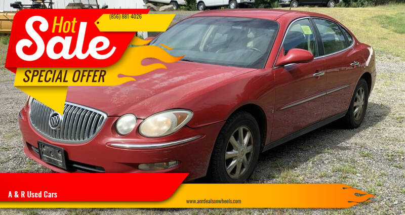 2008 Buick LaCrosse for sale at A & R Used Cars in Clayton NJ