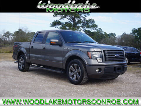 2012 Ford F-150 for sale at WOODLAKE MOTORS in Conroe TX