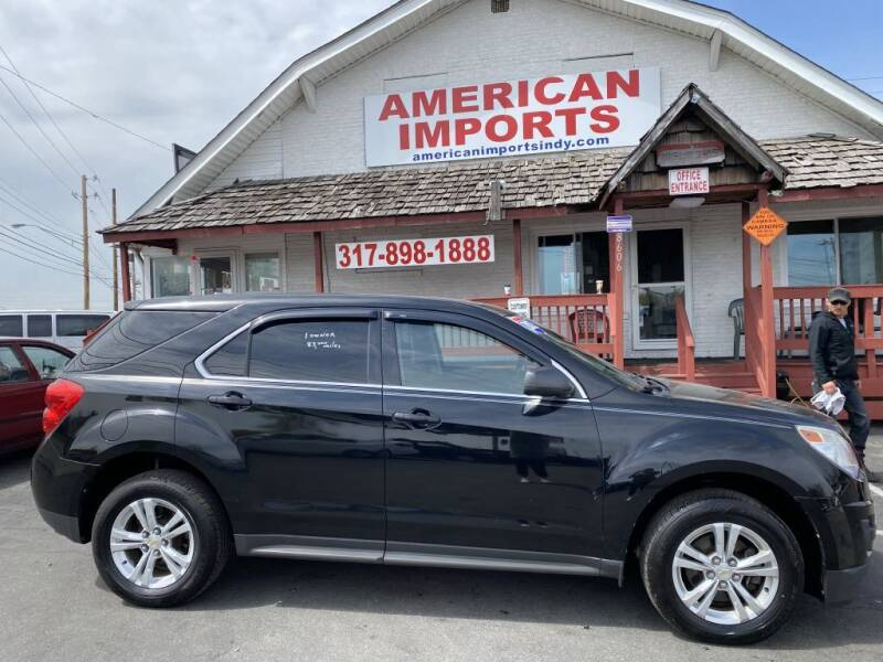 2012 Chevrolet Equinox for sale at American Imports INC in Indianapolis IN