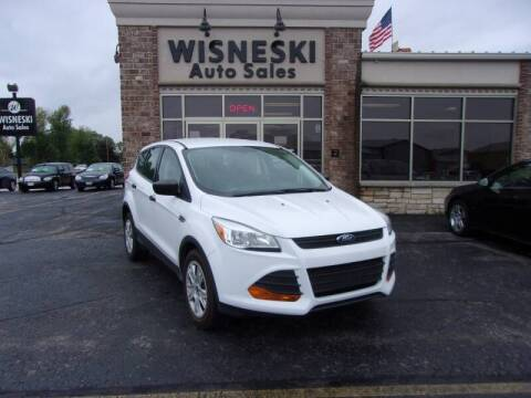 2015 Ford Escape for sale at Wisneski Auto Sales, Inc. in Green Bay WI