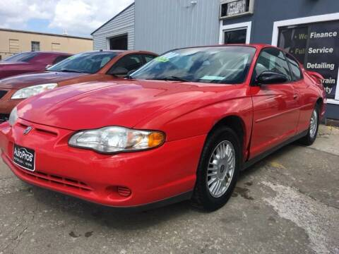 2000 Chevrolet Monte Carlo for sale at AutoPros - Waterloo in Waterloo IA
