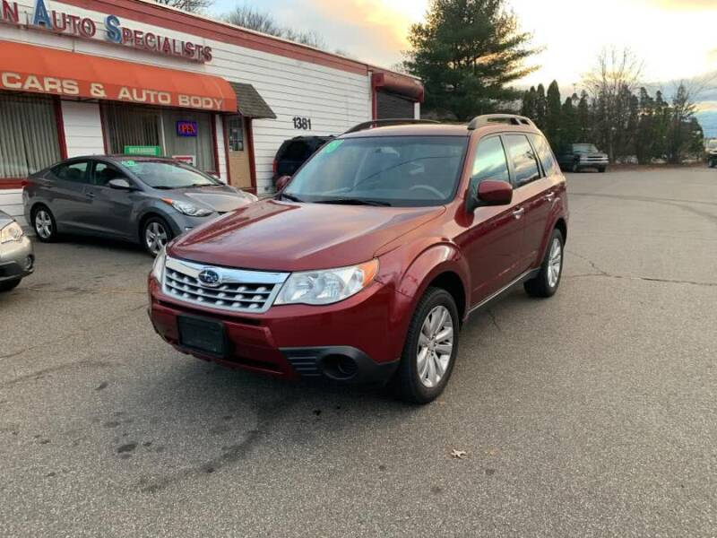 2011 Subaru Forester for sale at American Auto Specialist Inc in Berlin CT