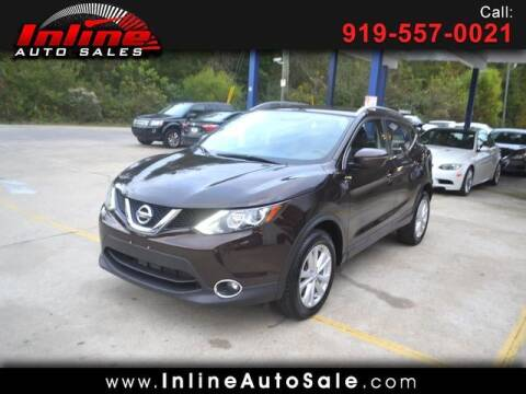 2017 Nissan Rogue Sport for sale at Inline Auto Sales in Fuquay Varina NC