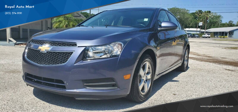 2014 Chevrolet Cruze for sale at Royal Auto Mart in Tampa FL