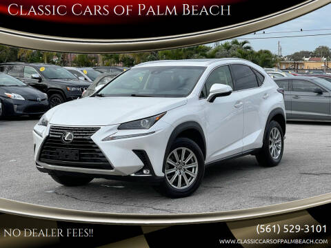 2018 Lexus NX 300 for sale at Classic Cars of Palm Beach in Jupiter FL
