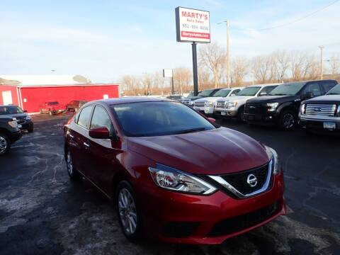 2018 Nissan Sentra for sale at Marty's Auto Sales in Savage MN