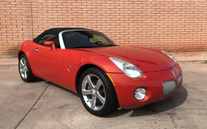 2008 Pontiac Solstice for sale at Freedom  Automotive in Sierra Vista AZ