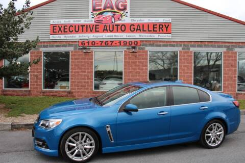 2015 Chevrolet SS for sale at EXECUTIVE AUTO GALLERY INC in Walnutport PA