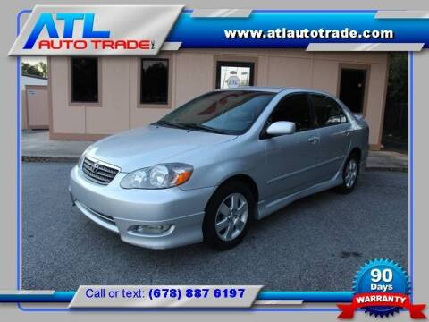 2008 Toyota Corolla for sale at ATL Auto Trade, Inc. in Stone Mountain GA