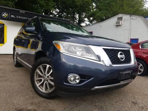 2013 Nissan Pathfinder for sale at SL Import Motors in Newport News VA