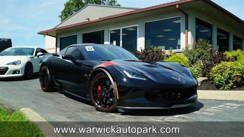 2017 Chevrolet Corvette for sale at WARWICK AUTOPARK LLC in Lititz PA