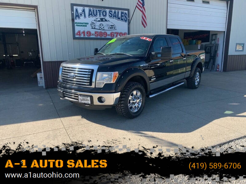 2012 Ford F-150 for sale at A-1 AUTO SALES in Mansfield OH