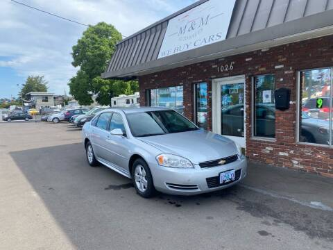 2009 Chevrolet Impala for sale at M&M Auto Sales in Portland OR